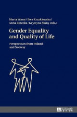 Omslag - Gender Equality and Quality of Life