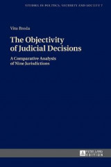 Omslag - The Objectivity of Judicial Decisions
