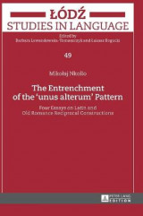 Omslag - The Entrenchment of the 'Unus Alterum' Pattern