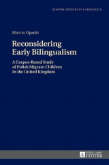 Omslag - Reconsidering Early Bilingualism