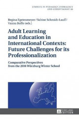 Omslag - Adult Learning and Education in International Contexts: Future Challenges for its Professionalization
