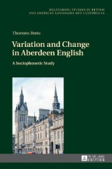 Omslag - Variation and Change in Aberdeen English