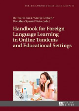 Omslag - Handbook for Foreign Language Learning in Online Tandems and Educational Settings