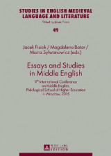 Omslag - Essays and Studies in Middle English