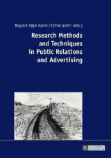 Omslag - Research Methods and Techniques in Public Relations and Advertising