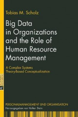 Omslag - Big Data in Organizations and the Role of Human Resource Management