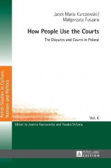 Omslag - How People Use the Courts
