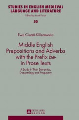 Omslag - Middle English Prepositions and Adverbs with the Prefix