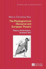 Omslag - The Physiognomical Discourse and European Theatre