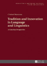 Omslag - Tradition and Innovation in Language and Linguistics