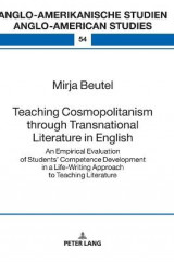 Omslag - Teaching Cosmopolitanism through Transnational Literature in English