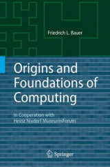 Omslag - Origins and Foundations of Computing