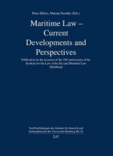 Omslag - Maritime Law - Current Developments and Perspectives