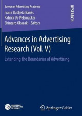 Omslag - Advances in Advertising Research