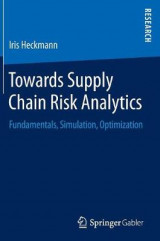 Omslag - Towards Supply Chain Risk Analytics