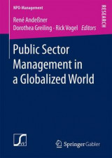 Omslag - Public Sector Management in a Globalized World