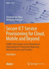 Omslag - Secure ICT Service Provisioning for Cloud, Mobile and Beyond