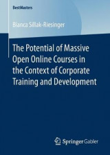 Omslag - The Potential of Massive Open Online Courses in the Context of Corporate Training and Development