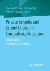 Omslag - Private Schools and School Choice in Compulsory Education