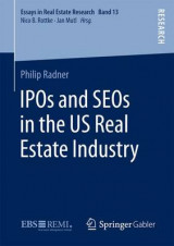 Omslag - IPOs and SEOs in the US Real Estate Industry