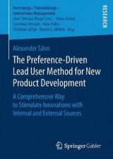 Omslag - The Preference-Driven Lead User Method for New Product Development