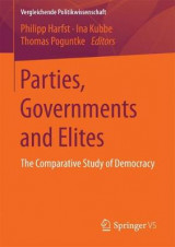 Omslag - Parties, Governments and Elites