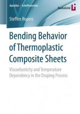 Omslag - Bending Behavior of Thermoplastic Composite Sheets