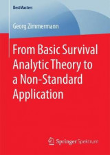Omslag - From Basic Survival Analytic Theory to a Non-Standard Application 2017
