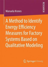 Omslag - A Method to Identify Energy Efficiency Measures for Factory Systems Based on Qualitative Modeling 2017
