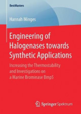 Omslag - Engineering of Halogenases towards Synthetic Applications