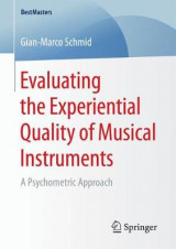 Omslag - Evaluating the Experiential Quality of Musical Instruments 2017