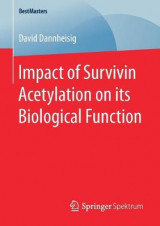 Omslag - Impact of Survivin Acetylation on its Biological Function
