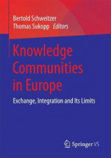 Omslag - Knowledge Communities in Europe