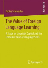 Omslag - The Value of Foreign Language Learning
