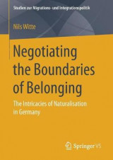 Omslag - Negotiating the Boundaries of Belonging