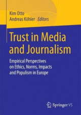 Omslag - Trust in Media and Journalism