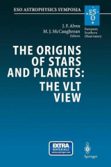 Omslag - The Origins of Stars and Planets: The Vlt View
