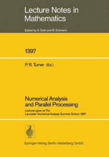 Numerical Analysis and Parallel Processing av Peter R. Turner (Heftet)