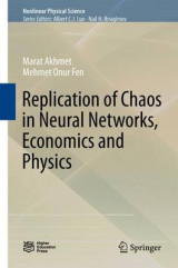 Omslag - Replication of Chaos in Neural Networks, Economics and Mechanics 2015