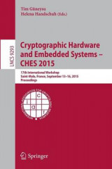 Omslag - Cryptographic Hardware and Embedded Systems - CHES 2015 2015