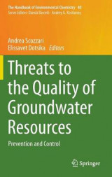 Omslag - Threats to the Quality of Groundwater Resources 2016