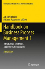 Omslag - Handbook on Business Process Management 1