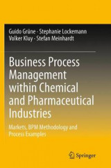 Omslag - Business Process Management Within Chemical and Pharmaceutical Industries