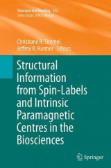 Omslag - Structural Information from Spin-Labels and Intrinsic Paramagnetic Centres in the Biosciences