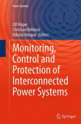 Omslag - Monitoring, Control and Protection of Interconnected Power Systems