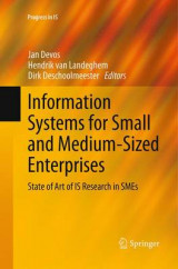 Omslag - Information Systems for Small and Medium-Sized Enterprises