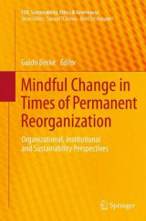 Omslag - Mindful Change in Times of Permanent Reorganization