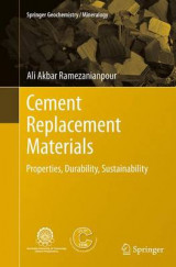 Omslag - Cement Replacement Materials