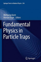 Omslag - Fundamental Physics in Particle Traps