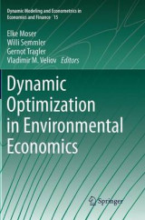 Omslag - Dynamic Optimization in Environmental Economics